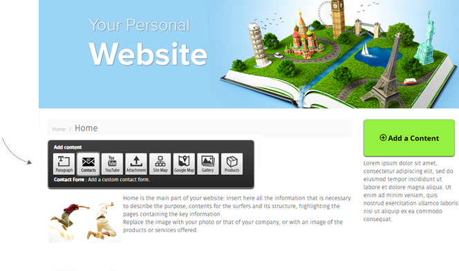 Create Your Free Website Create Your Personal And